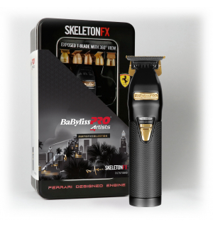 BaByliss PRO Profesionální zastřihovač vlasů SkeletonFX Black FX7870BKE