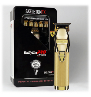 BaByliss PRO Profesionální zastřihovač vlasů SkeletonFX Gold FX7870GE